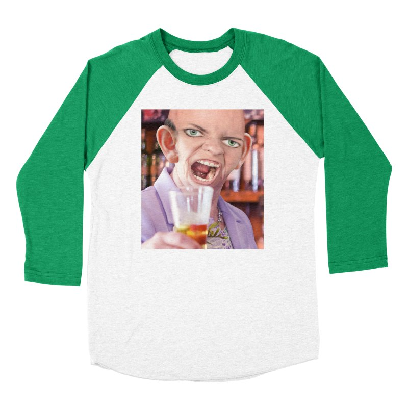Cheers, Big Ears! Women's Baseball Triblend Longsleeve T-Shirt by The Rake & Herald Online Clag Emporium