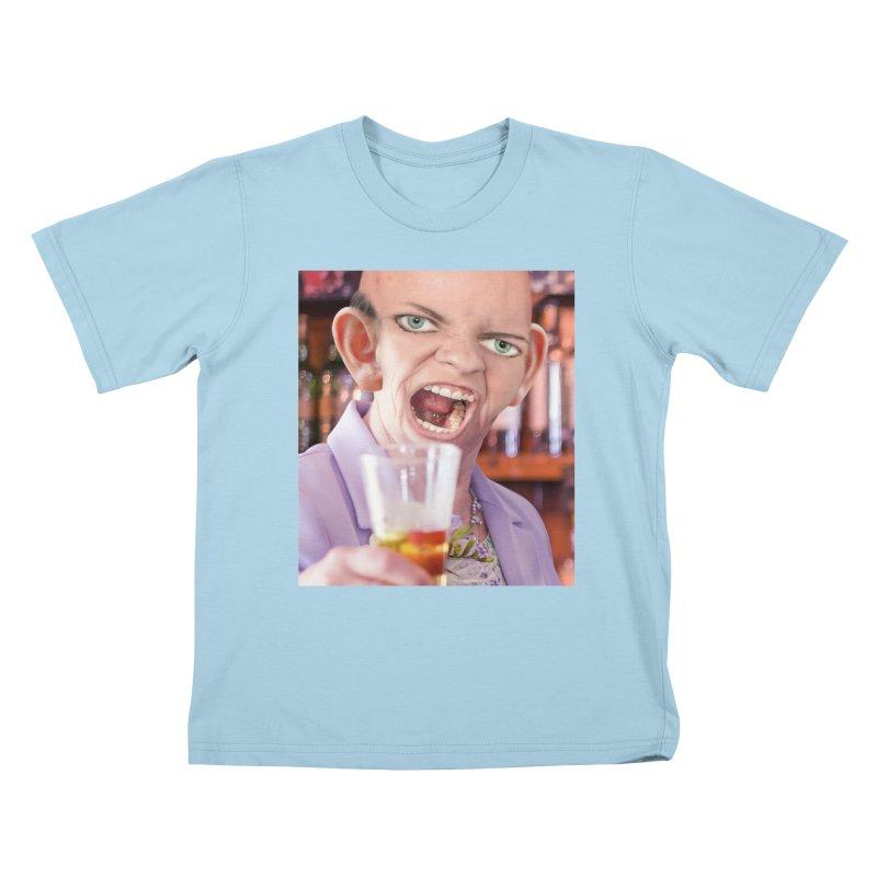 Cheers, Big Ears! Kids T-Shirt by The Rake & Herald Online Clag Emporium
