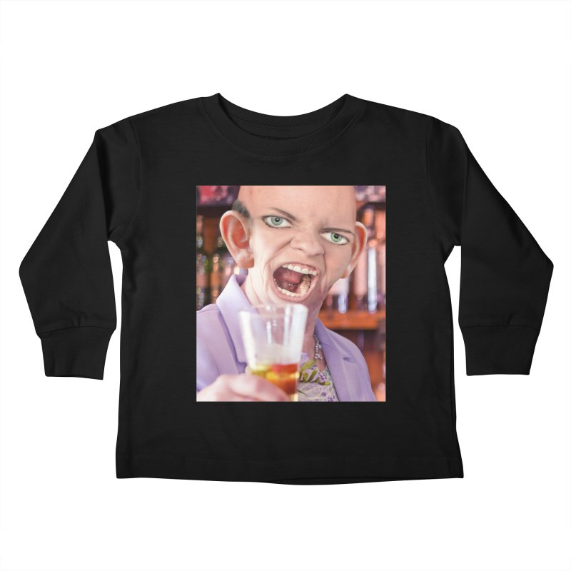 Cheers, Big Ears! Kids Toddler Longsleeve T-Shirt by The Rake & Herald Online Clag Emporium