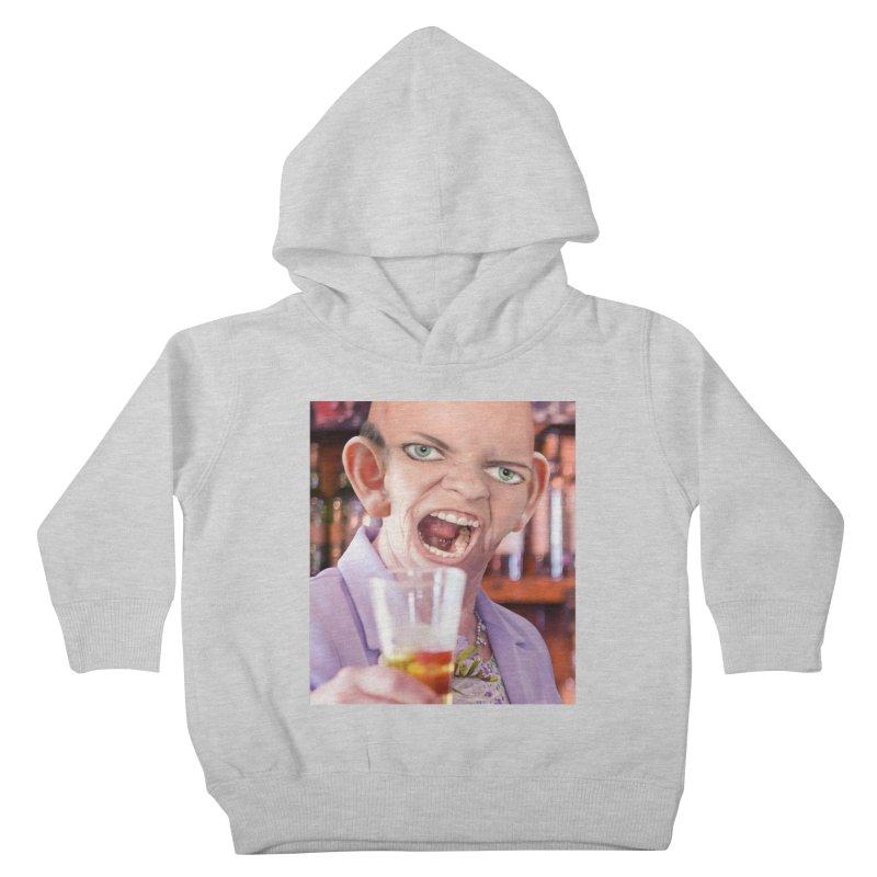 Cheers, Big Ears! Kids Toddler Pullover Hoody by The Rake & Herald Online Clag Emporium