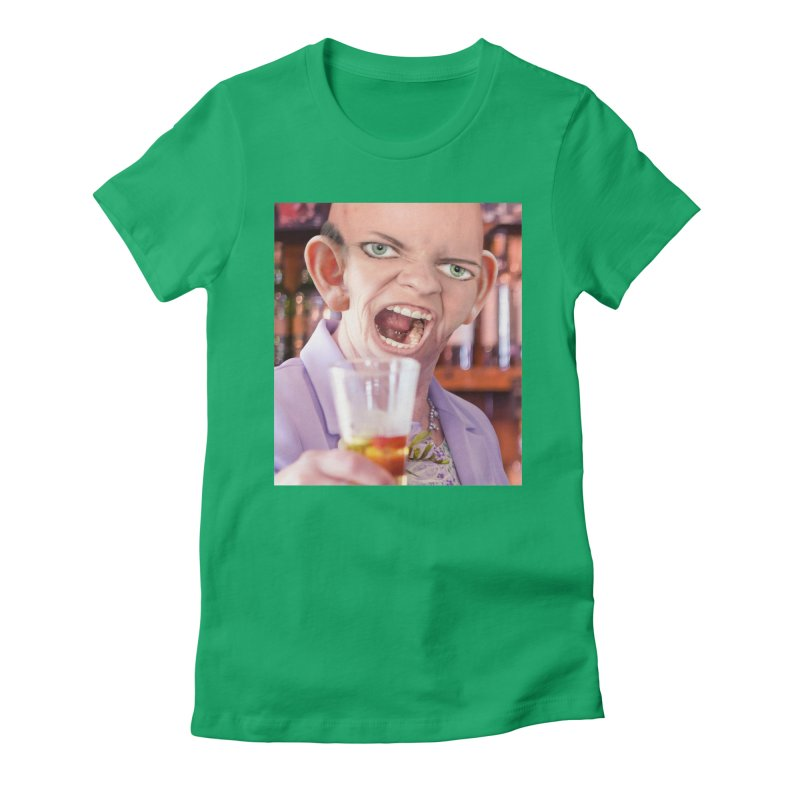 Cheers, Big Ears! Women's T-Shirt by The Rake & Herald Online Clag Emporium
