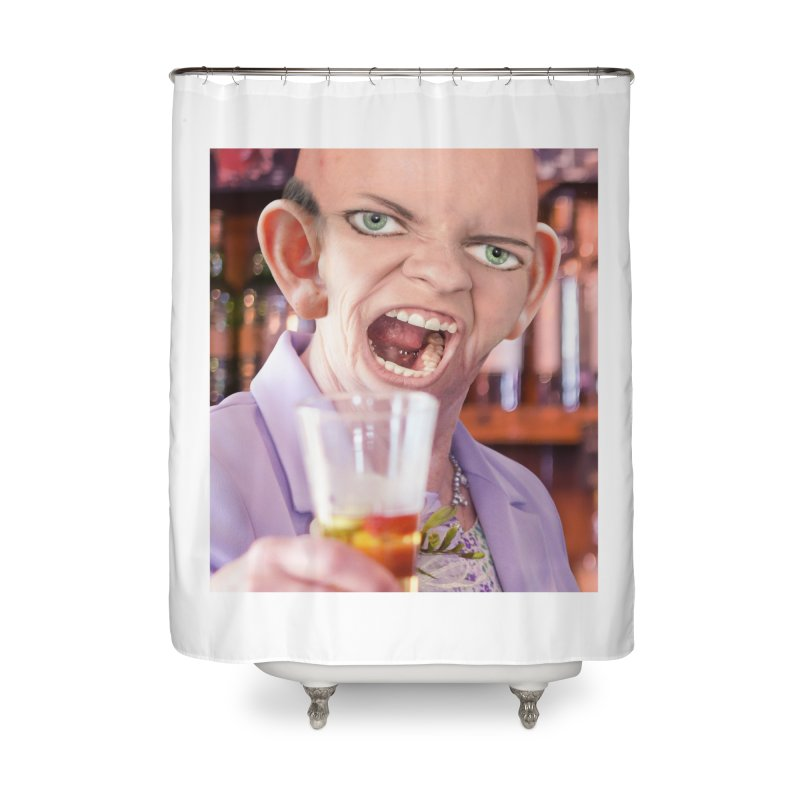 Cheers, Big Ears! Home Shower Curtain by The Rake & Herald Online Clag Emporium