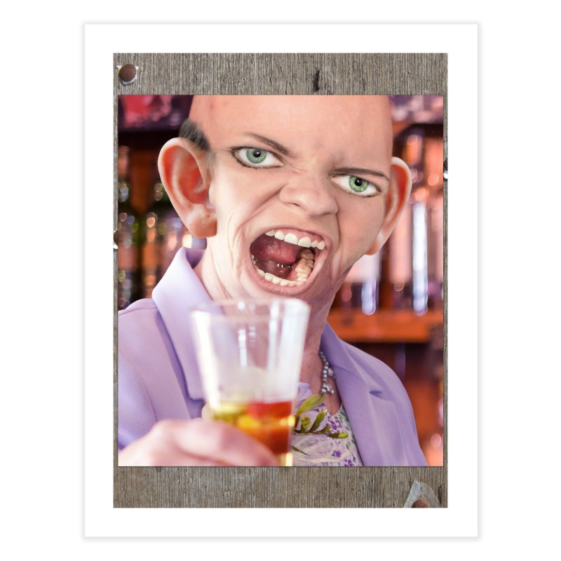 Cheers, Big Ears! Home Fine Art Print by The Rake & Herald Online Clag Emporium