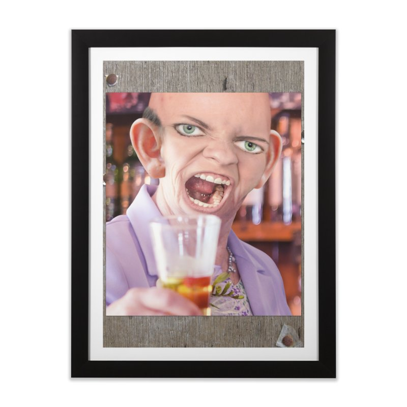Cheers, Big Ears! Home Framed Fine Art Print by The Rake & Herald Online Clag Emporium
