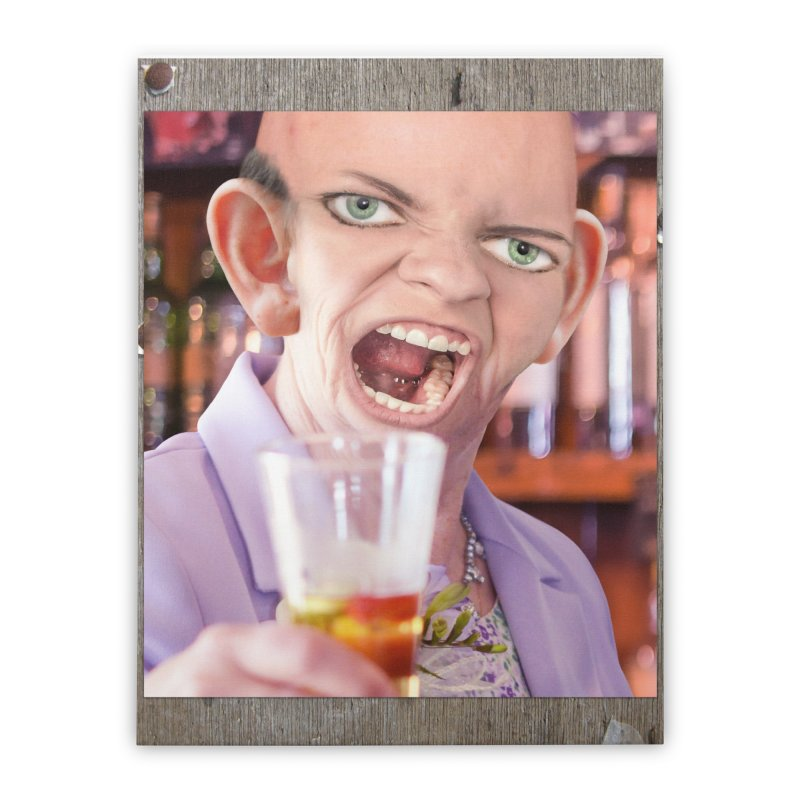 Cheers, Big Ears! Home Stretched Canvas by The Rake & Herald Online Clag Emporium