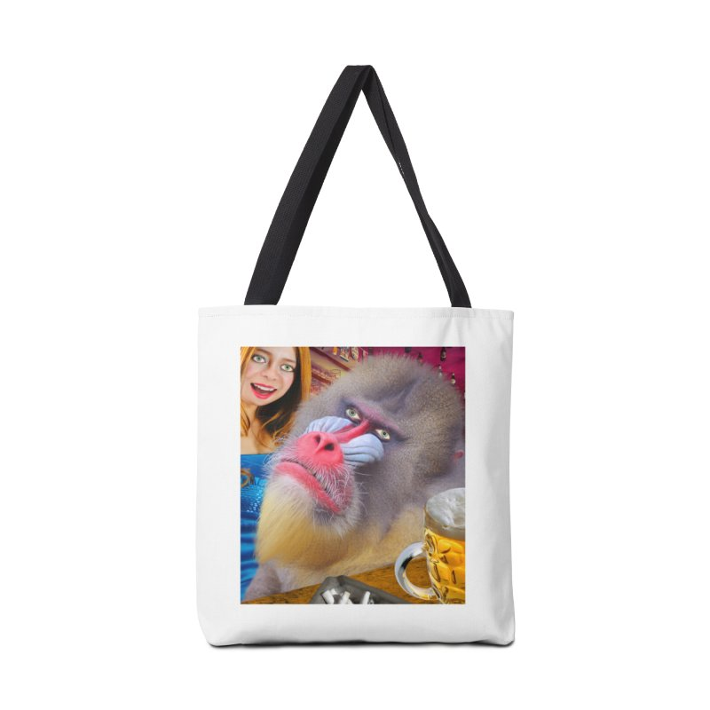 The Bar Mandrill Accessories Tote Bag Bag by The Rake & Herald Online Clag Emporium