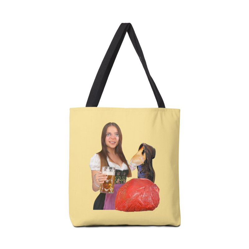 Beer Is Ace Accessories Tote Bag Bag by The Rake & Herald Online Clag Emporium