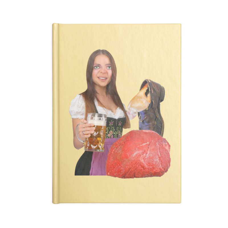 Beer Is Ace Accessories Blank Journal Notebook by The Rake & Herald Online Clag Emporium
