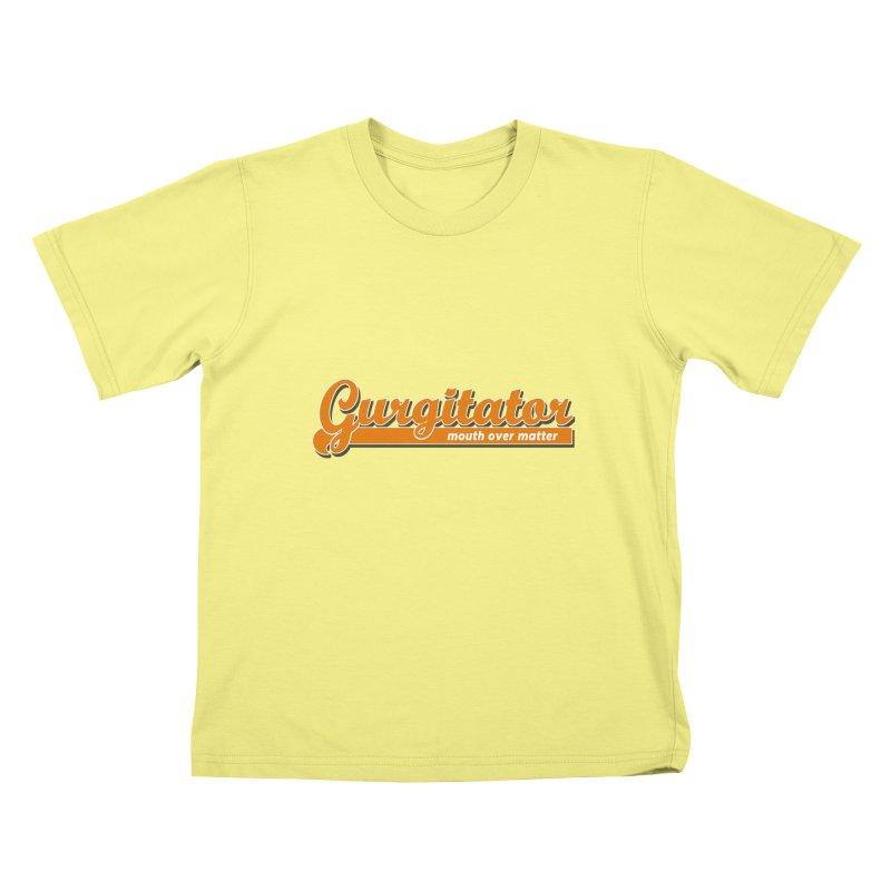 Gurgitator Kids T-shirt by The Rake & Herald Online Clag Emporium