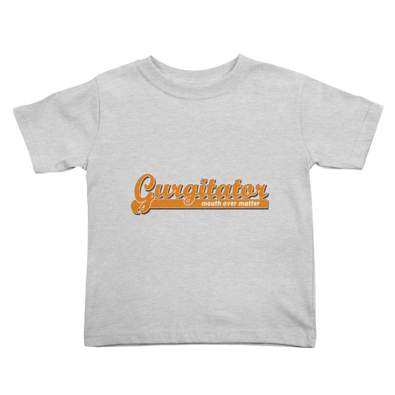 Gurgitator Kids Toddler T-Shirt by The Rake & Herald Online Clag Emporium