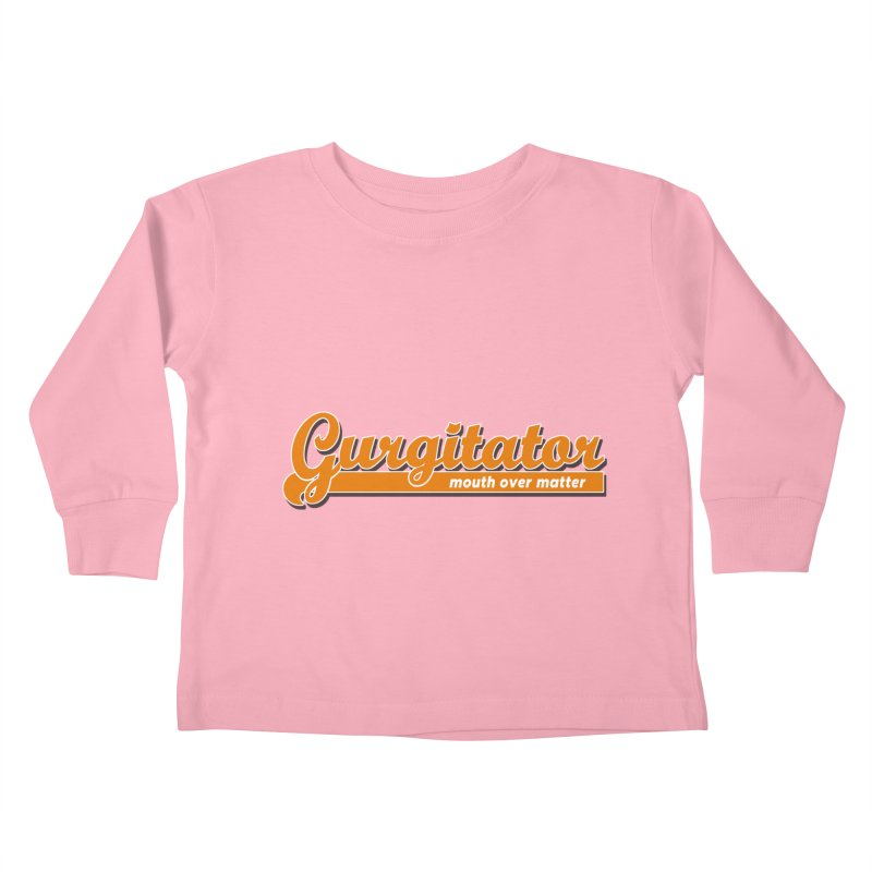 Gurgitator Kids Toddler Longsleeve T-Shirt by The Rake & Herald Online Clag Emporium