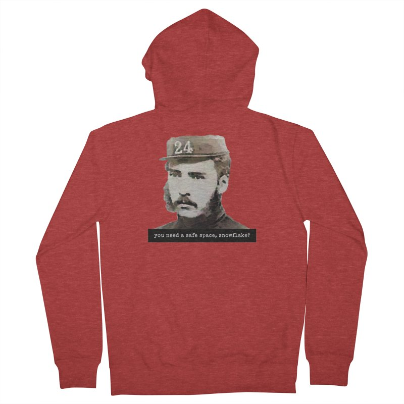 You Need a Safe Space, Snowflake? Women's Zip-Up Hoody by The Rake & Herald Online Clag Emporium