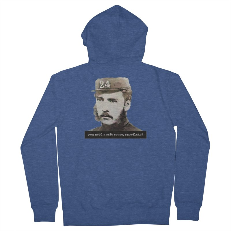 You Need a Safe Space, Snowflake? Men's Zip-Up Hoody by The Rake & Herald Online Clag Emporium