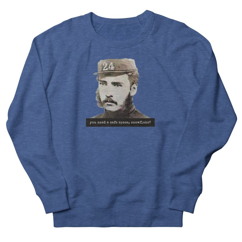 You Need a Safe Space, Snowflake? Men's Sweatshirt by The Rake & Herald Online Clag Emporium
