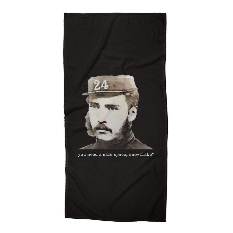 You Need a Safe Space, Snowflake? Accessories Beach Towel by The Rake & Herald Online Clag Emporium