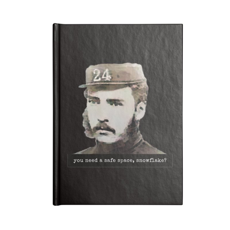 You Need a Safe Space, Snowflake? Accessories Notebook by The Rake & Herald Online Clag Emporium
