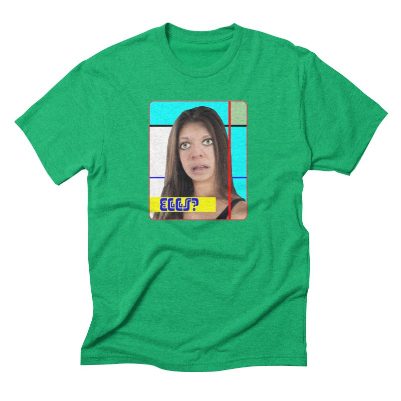 Eggs? Men's Triblend T-shirt by The Rake & Herald Online Clag Emporium