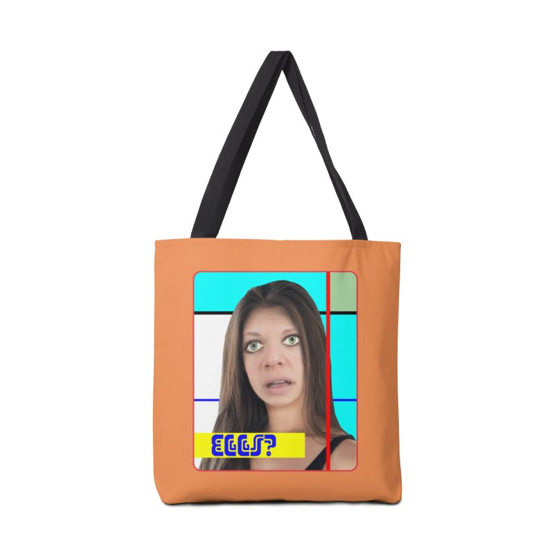 Eggs? Accessories Tote Bag Bag by The Rake & Herald Online Clag Emporium