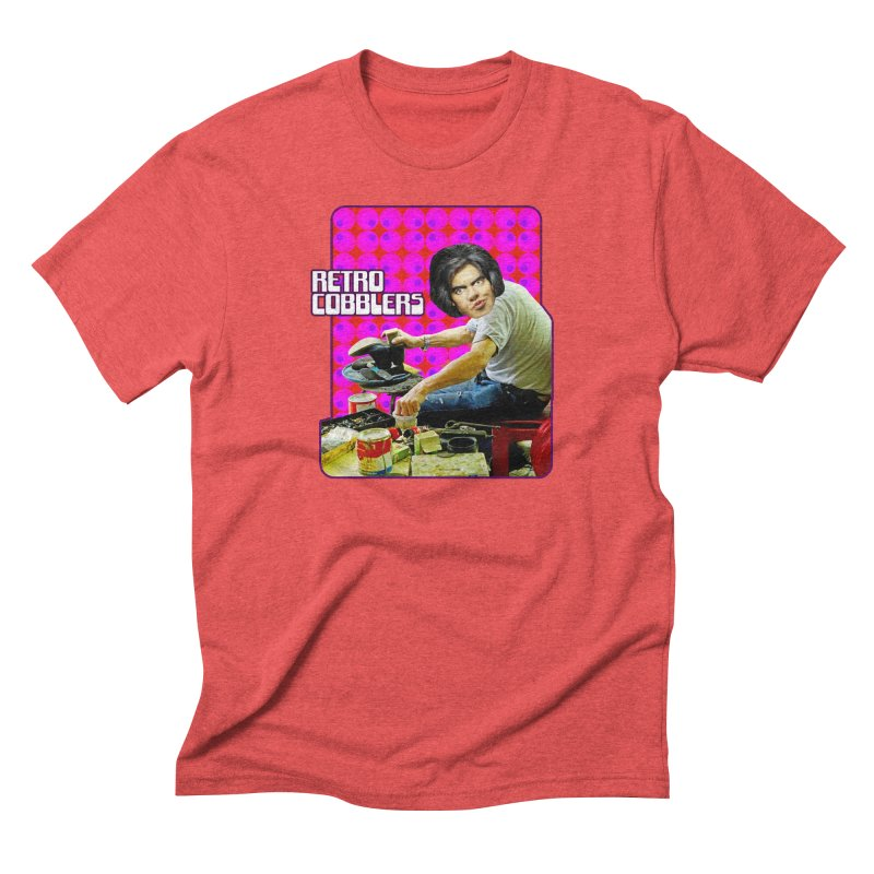 Retro Cobblers Men's Triblend T-shirt by The Rake & Herald Online Clag Emporium