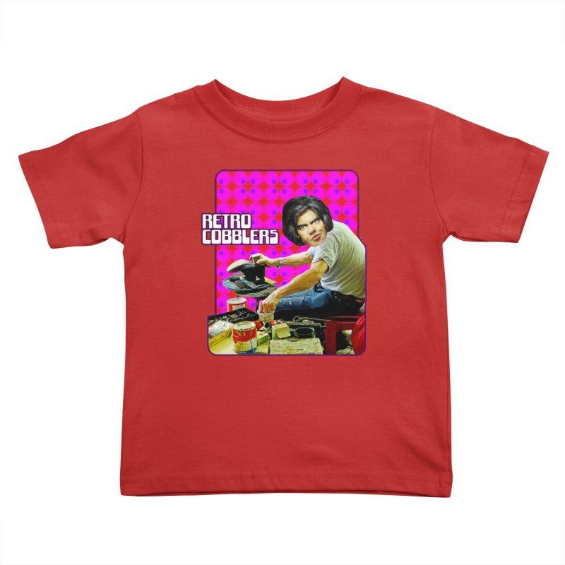 Retro Cobblers Kids Toddler T-Shirt by The Rake & Herald Online Clag Emporium