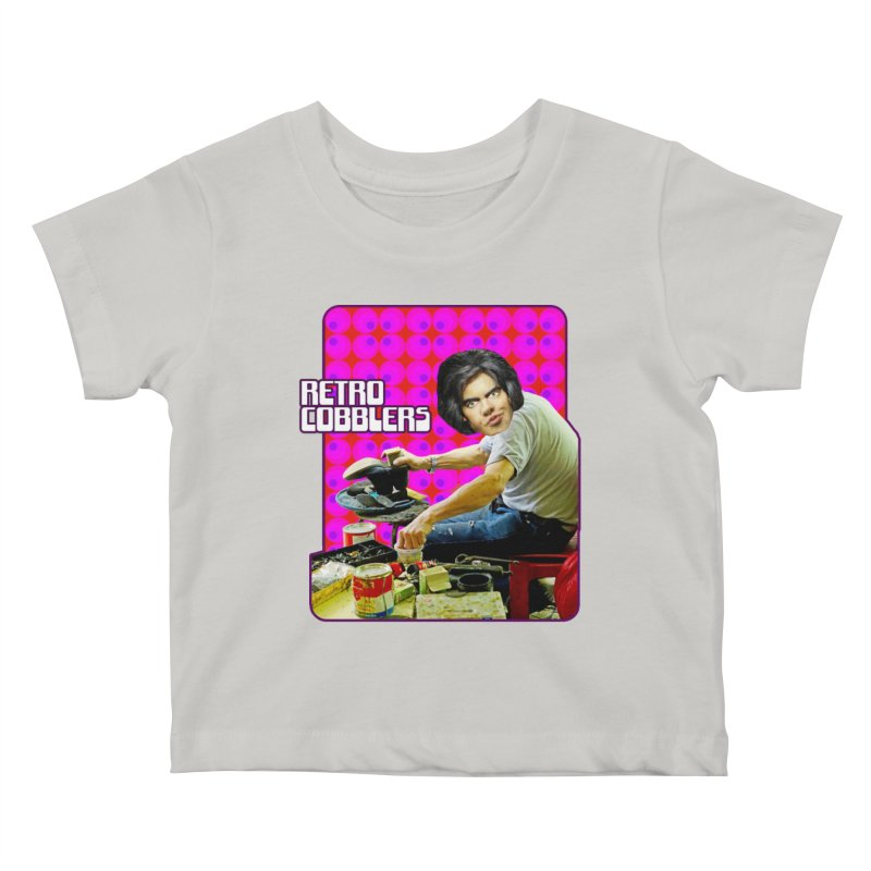 Retro Cobblers Kids Baby T-Shirt by The Rake & Herald Online Clag Emporium