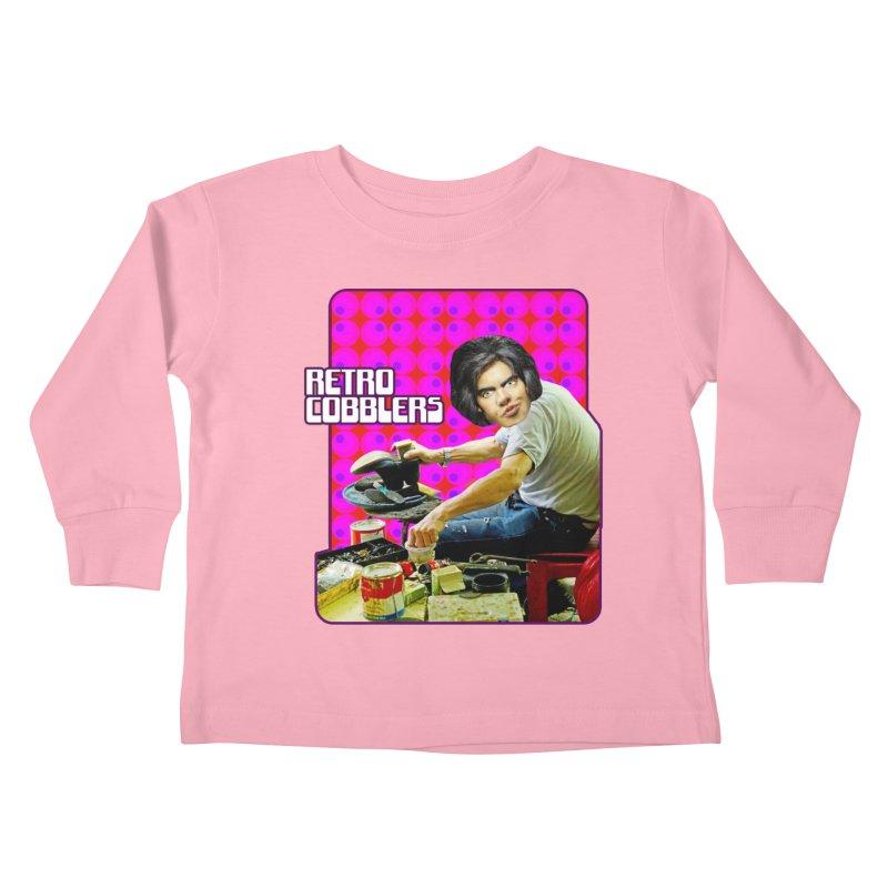 Retro Cobblers Kids Toddler Longsleeve T-Shirt by The Rake & Herald Online Clag Emporium