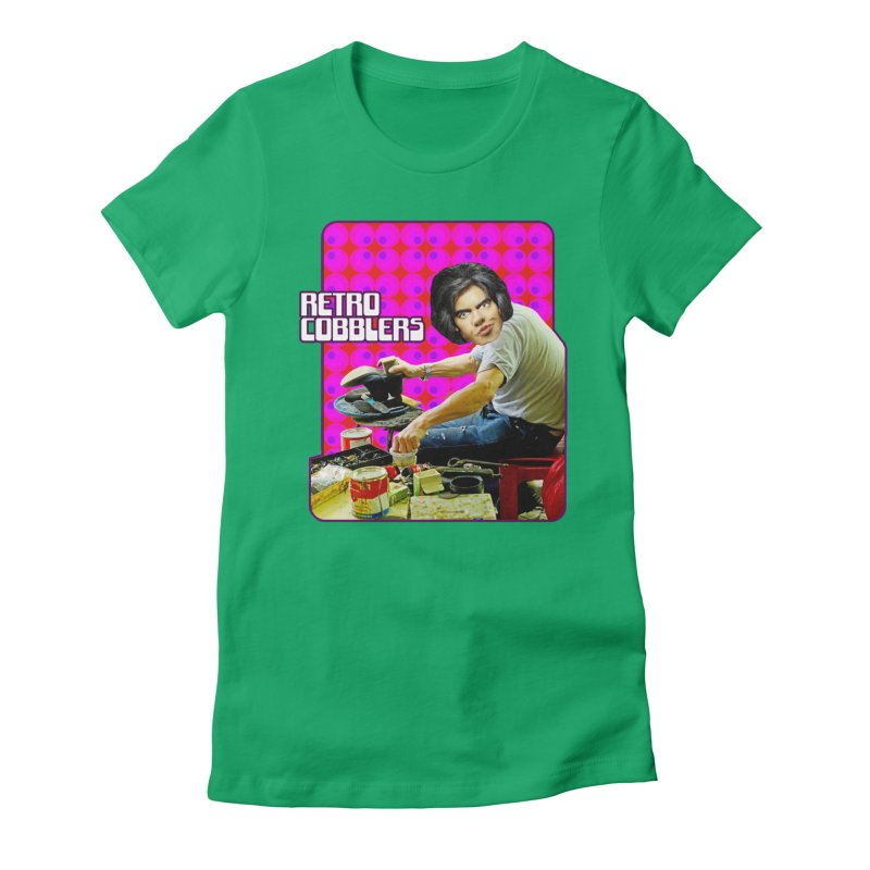 Retro Cobblers Women's Fitted T-Shirt by The Rake & Herald Online Clag Emporium