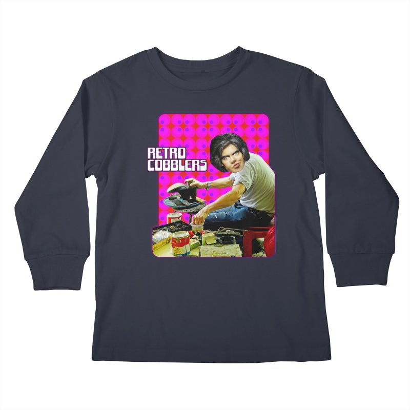 Retro Cobblers Kids Longsleeve T-Shirt by The Rake & Herald Online Clag Emporium