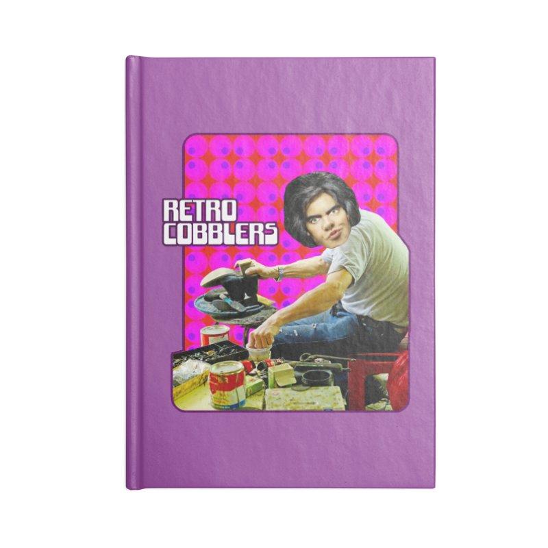 Retro Cobblers Accessories Notebook by The Rake & Herald Online Clag Emporium