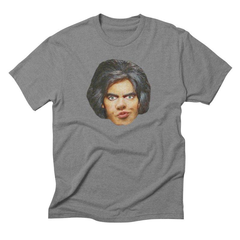 Retro Cobblers Bloke Men's Triblend T-shirt by The Rake & Herald Online Clag Emporium