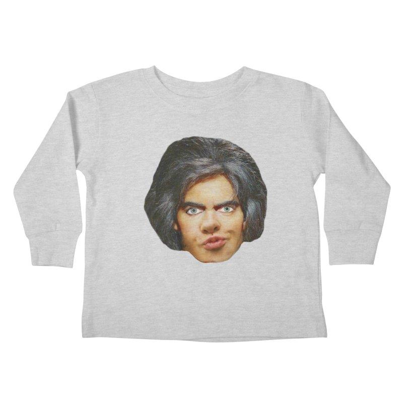 Retro Cobblers Bloke Kids Toddler Longsleeve T-Shirt by The Rake & Herald Online Clag Emporium
