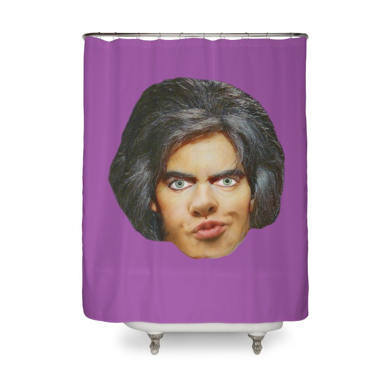Retro Cobblers Bloke Home Shower Curtain by The Rake & Herald Online Clag Emporium