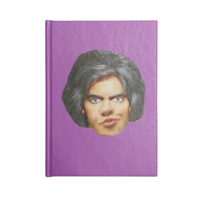 Retro Cobblers Bloke Accessories Blank Journal Notebook by The Rake & Herald Online Clag Emporium