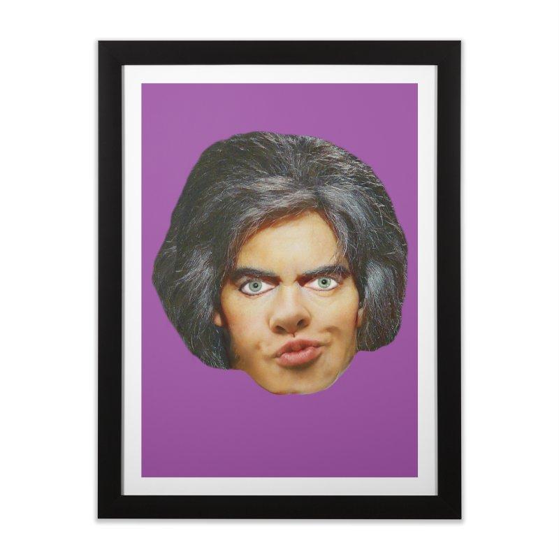 Retro Cobblers Bloke Home Framed Fine Art Print by The Rake & Herald Online Clag Emporium