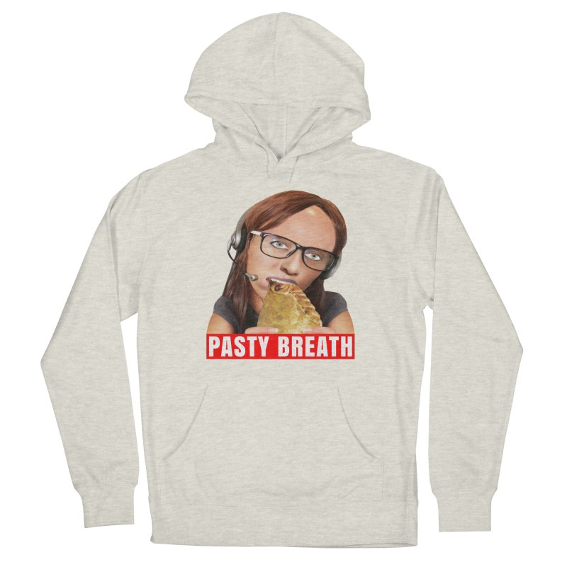 Pasty Breath Women's Pullover Hoody by The Rake & Herald Online Clag Emporium