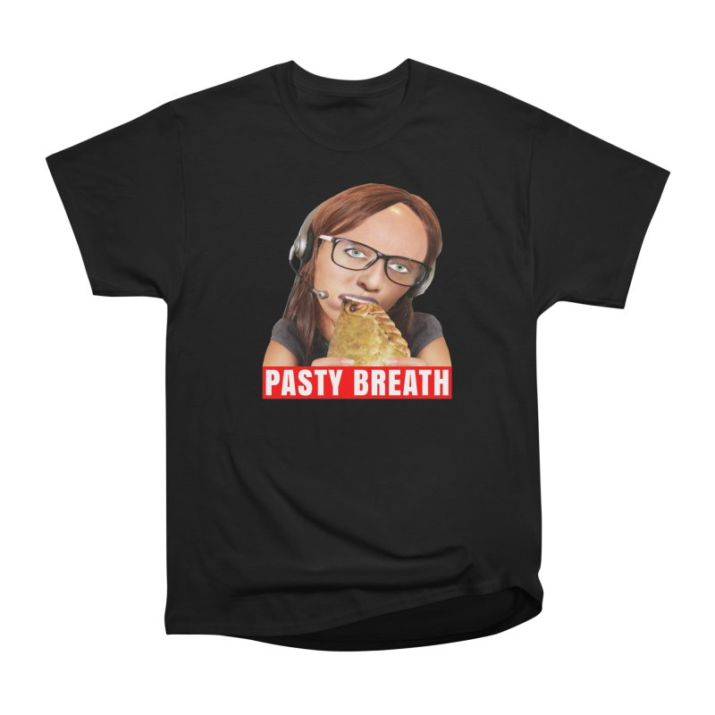 Pasty Breath Women's Classic Unisex T-Shirt by The Rake & Herald Online Clag Emporium