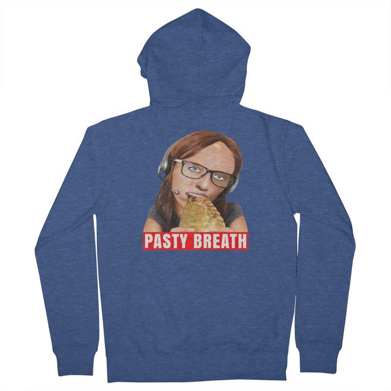 Pasty Breath Women's Zip-Up Hoody by The Rake & Herald Online Clag Emporium
