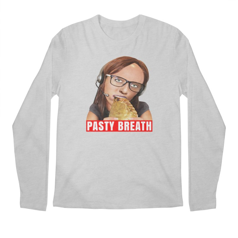Pasty Breath Men's Longsleeve T-Shirt by The Rake & Herald Online Clag Emporium