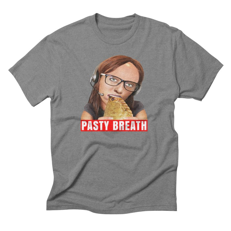 Pasty Breath Men's Triblend T-shirt by The Rake & Herald Online Clag Emporium