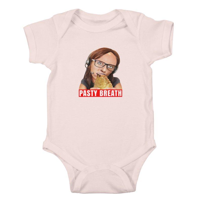 Pasty Breath Kids Baby Bodysuit by The Rake & Herald Online Clag Emporium