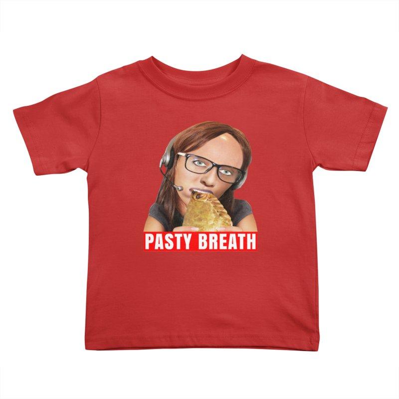Pasty Breath Kids Toddler T-Shirt by The Rake & Herald Online Clag Emporium