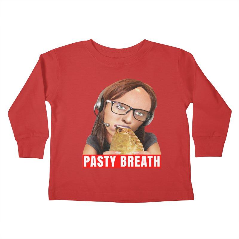 Pasty Breath Kids Toddler Longsleeve T-Shirt by The Rake & Herald Online Clag Emporium