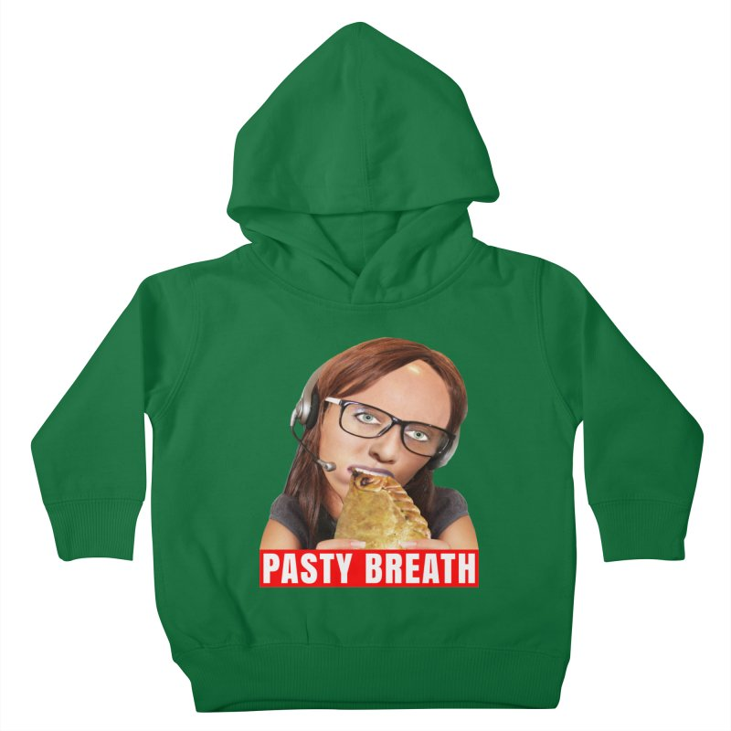 Pasty Breath Kids Toddler Pullover Hoody by The Rake & Herald Online Clag Emporium