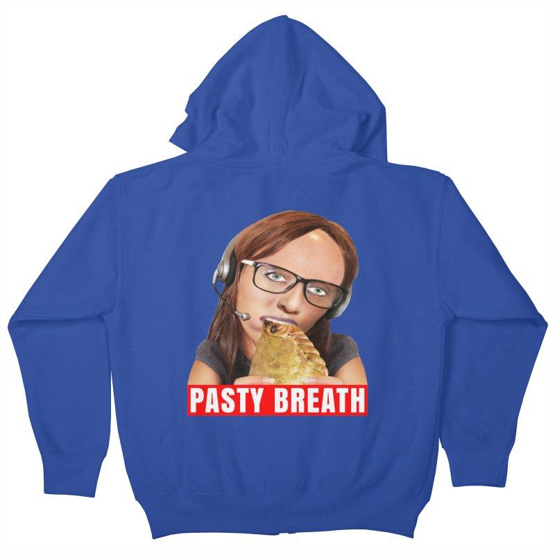Pasty Breath Kids Zip-Up Hoody by The Rake & Herald Online Clag Emporium