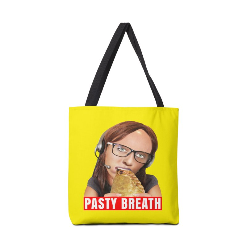 Pasty Breath Accessories Tote Bag Bag by The Rake & Herald Online Clag Emporium