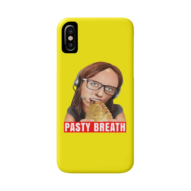 Pasty Breath Accessories Phone Case by The Rake & Herald Online Clag Emporium