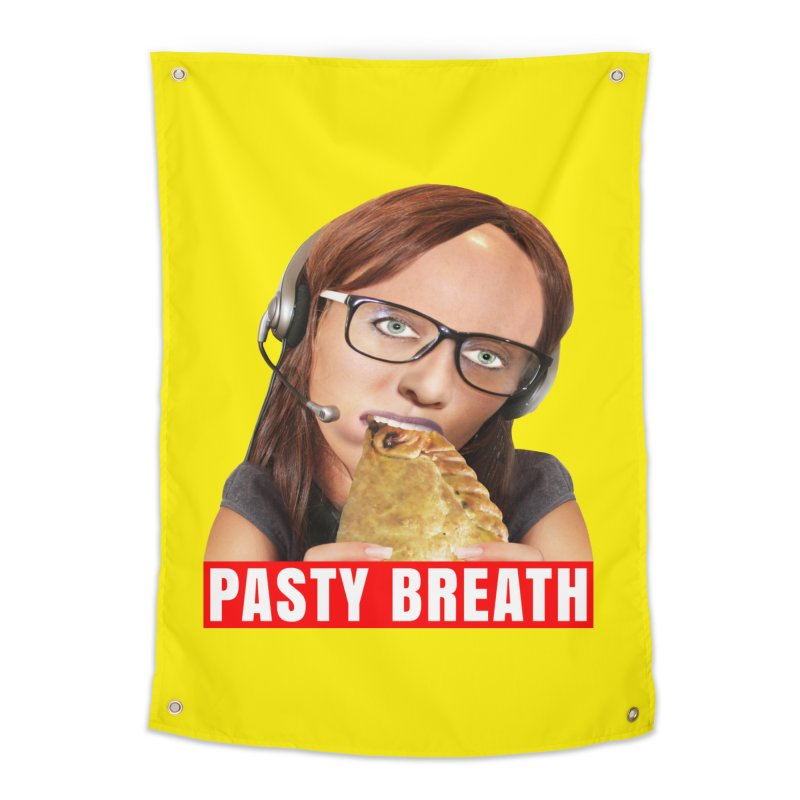 Pasty Breath Home Tapestry by The Rake & Herald Online Clag Emporium
