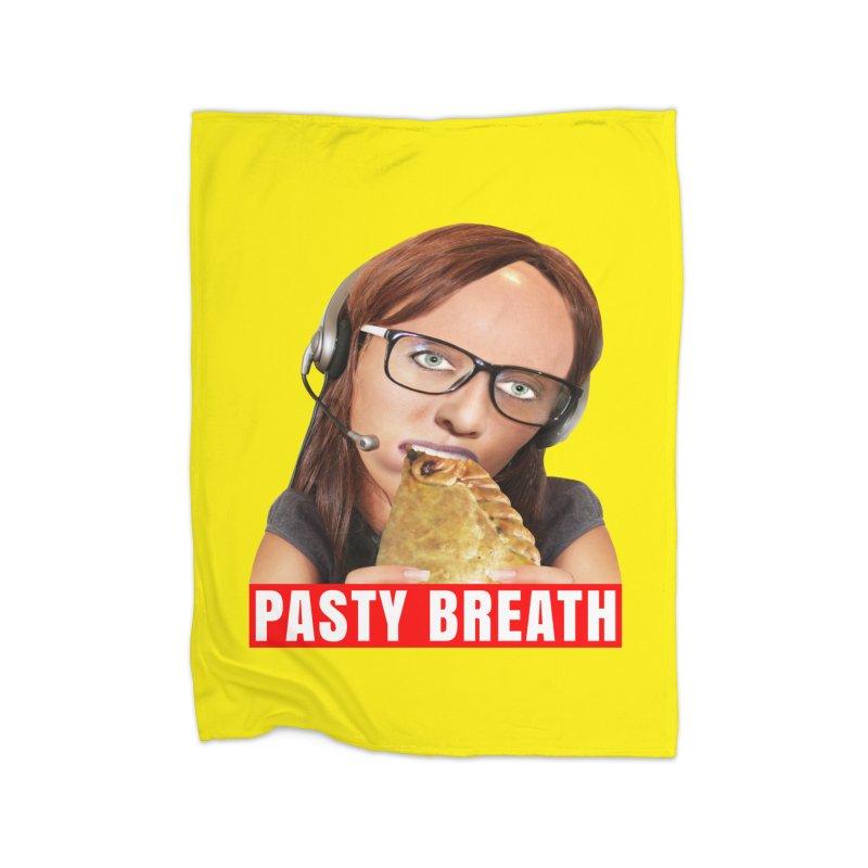 Pasty Breath Home Blanket by The Rake & Herald Online Clag Emporium