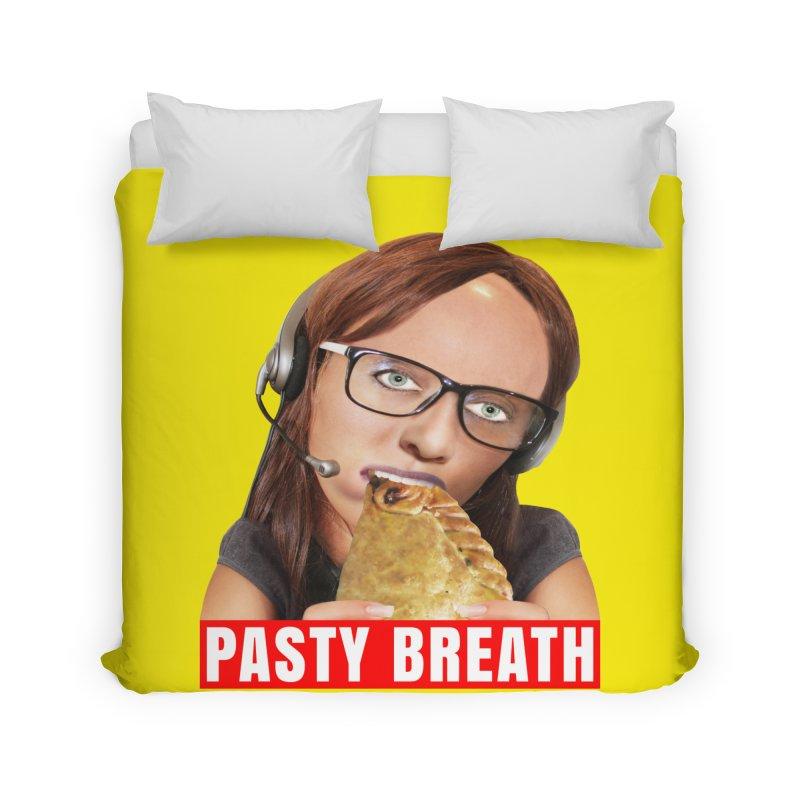 Pasty Breath Home Duvet by The Rake & Herald Online Clag Emporium