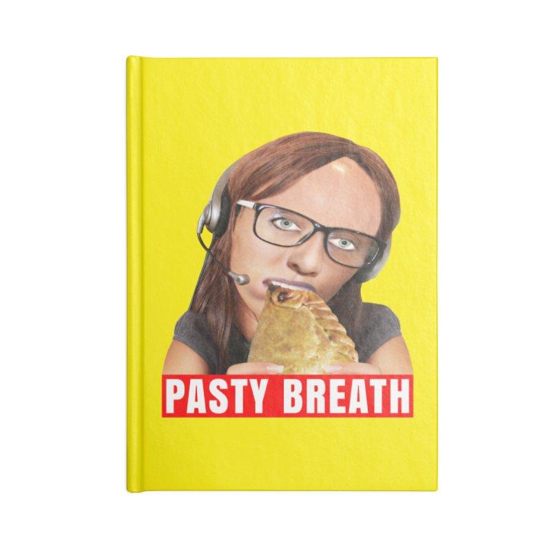 Pasty Breath Accessories Blank Journal Notebook by The Rake & Herald Online Clag Emporium